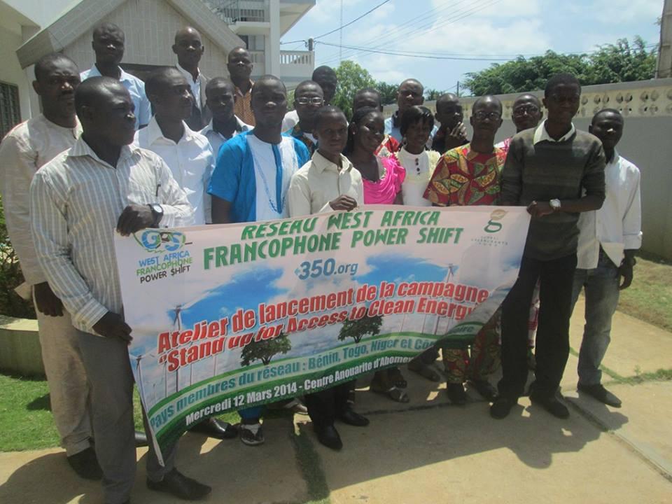 Photo de Famille du Lancement de Global Power Shift Benin