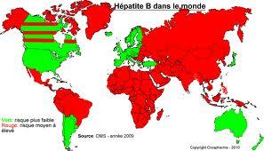 Prévalence des Hépatites dans le monde...